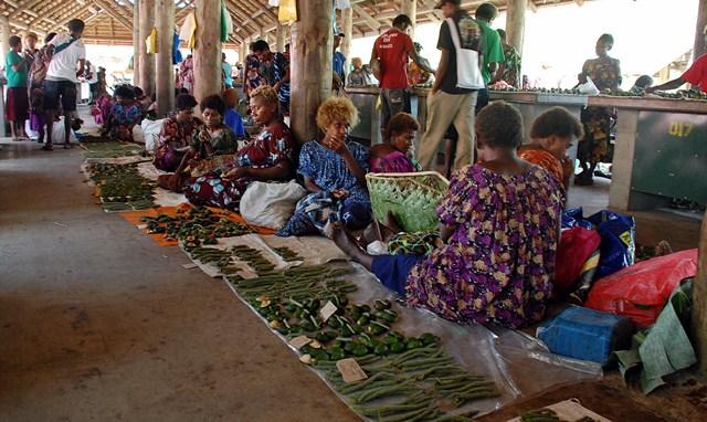 Kokopo public market- veggies