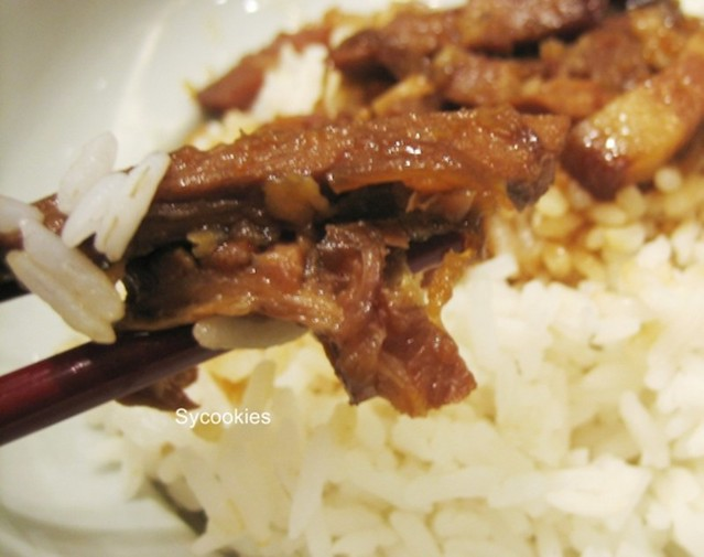 28.white rice with minced pork @ fong lye (1)