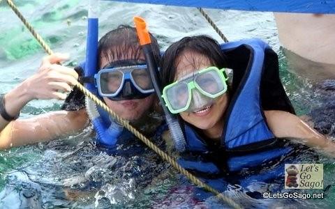 Snorkeling in Boracay