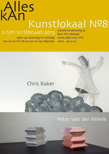Chris Baker   Peter van der Weele by AlleskAn   Kunstlokaal №8