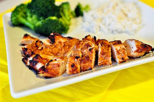 Quick Hunan Chicken