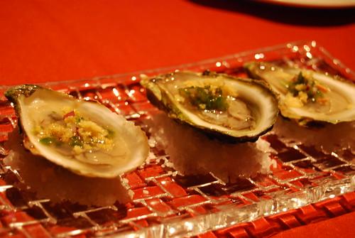 La Filet oysters