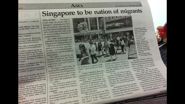Nation of migrants.