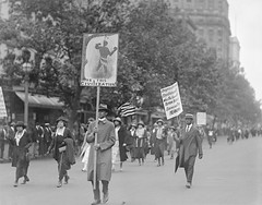 Silent Anti-Lynching March on Washington: 1922