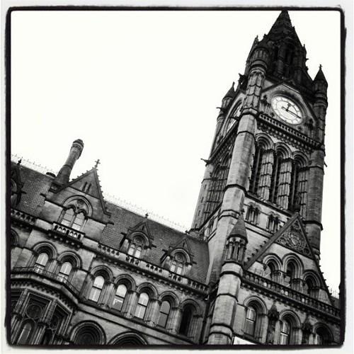 Manchester Town Hall 01 by Angela Seager