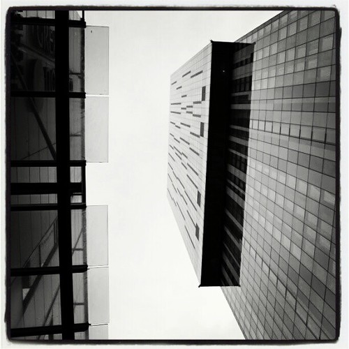 Beetham Tower / Abstract 03 by Angela Seager