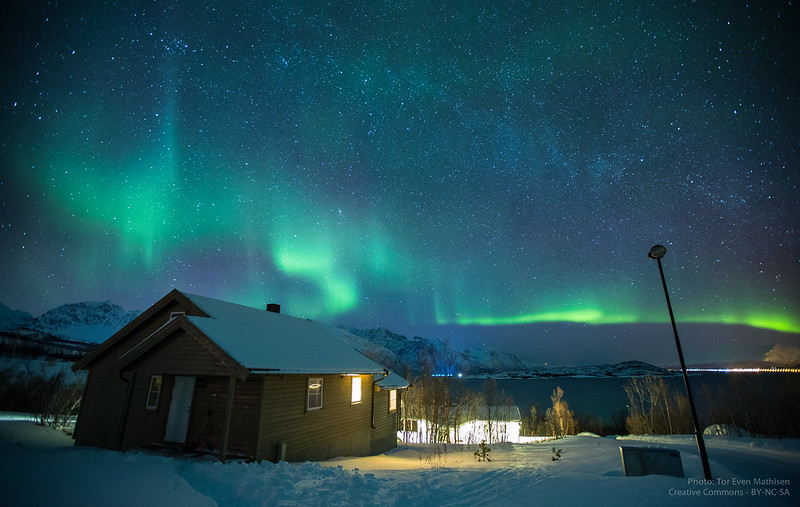 Aurora Borealis over Lyngen, Norway [Explored!]