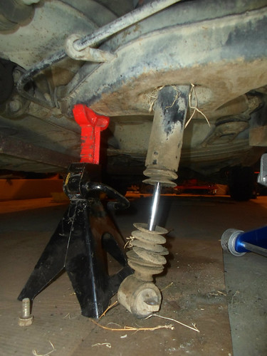 Rear shock replacement