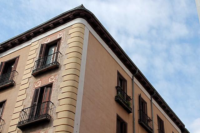 Corner of building
