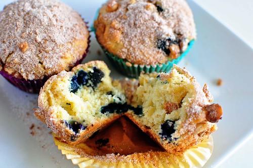 Orange Blueberry Muffins 5