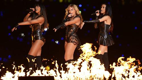 Beyonce en e Super Bowl 2013