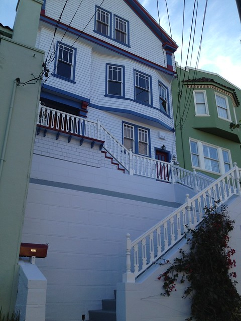 Colorful San Francisco homes