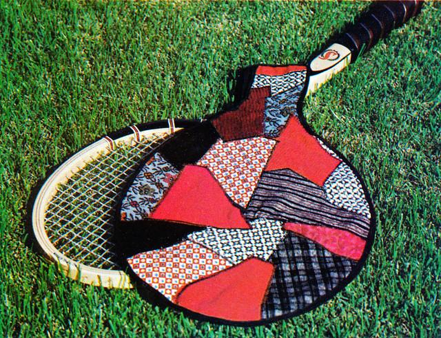 Quilting Overload Tennis 1973