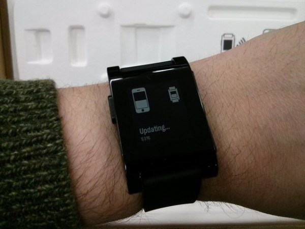 updating the pebble