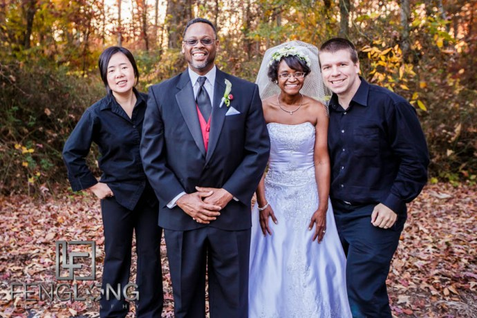 Group Photo! | Chalandra & Richard's Wedding | Pleasant Hill Presbyterian Church & Atlanta Marriott Gwinnett Place
