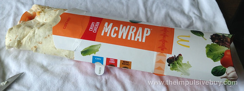 McDonald's Crispy Chicken & Ranch Premium McWrap