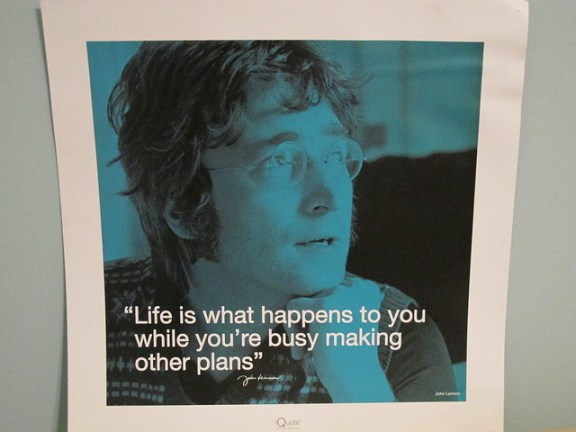 Year in travel, John Lennon quote