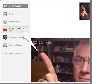 Google+ Hanghout Toolbox