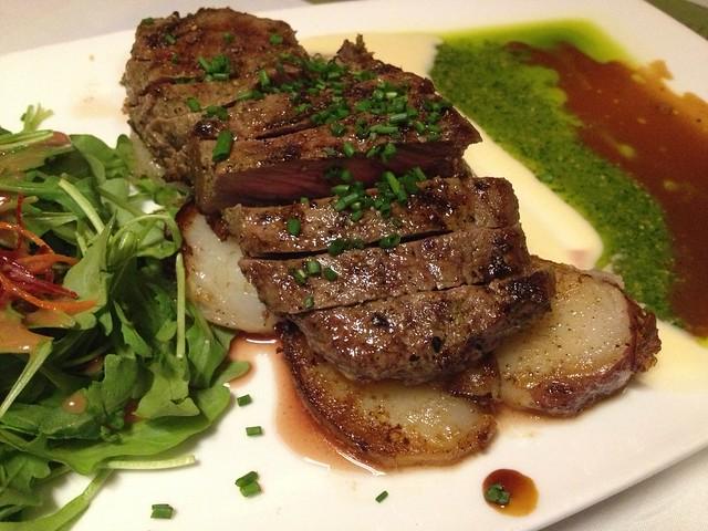 New York cut steak - Sansei Seafood Restaurant
