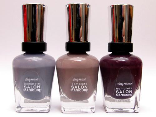 Sally Hansen polishes