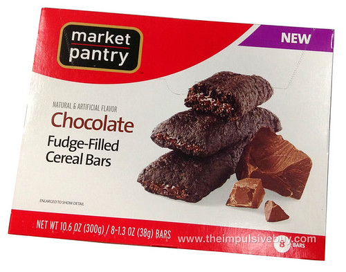 Market Pantry Chocolate Fudge-Filled Cereal Bars