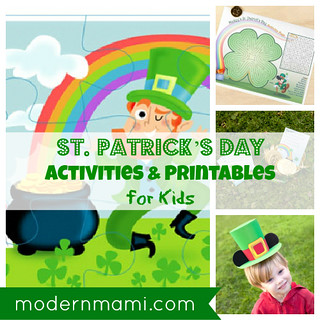 St. Patrick's Day Printables and Activities for Kids