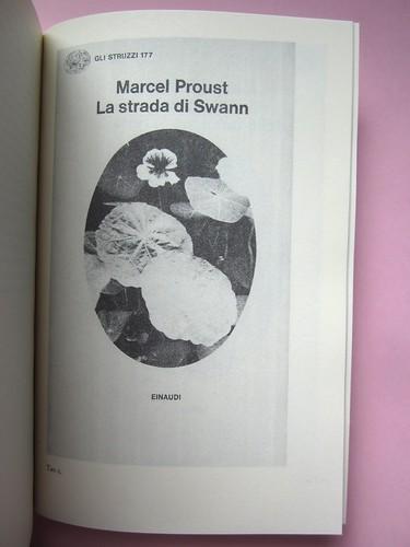 Proust e gli oggetti, a cura di G. G. Greco, S. Martina, M. Piazza. Le Cáriti Editore 2012. Impaginazione e grafica: DMD. Tavola 1 (part.), 1