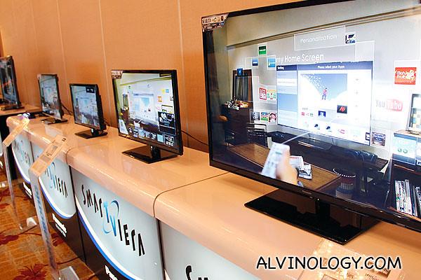 New Panasonic Smart Viera TVs