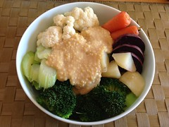 温野菜のもちきびディップ