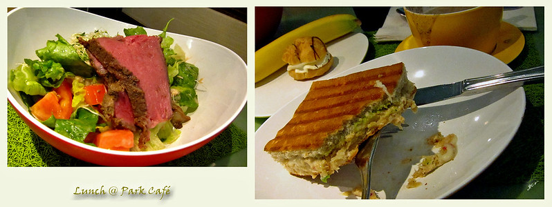 Lunch @ Park Café