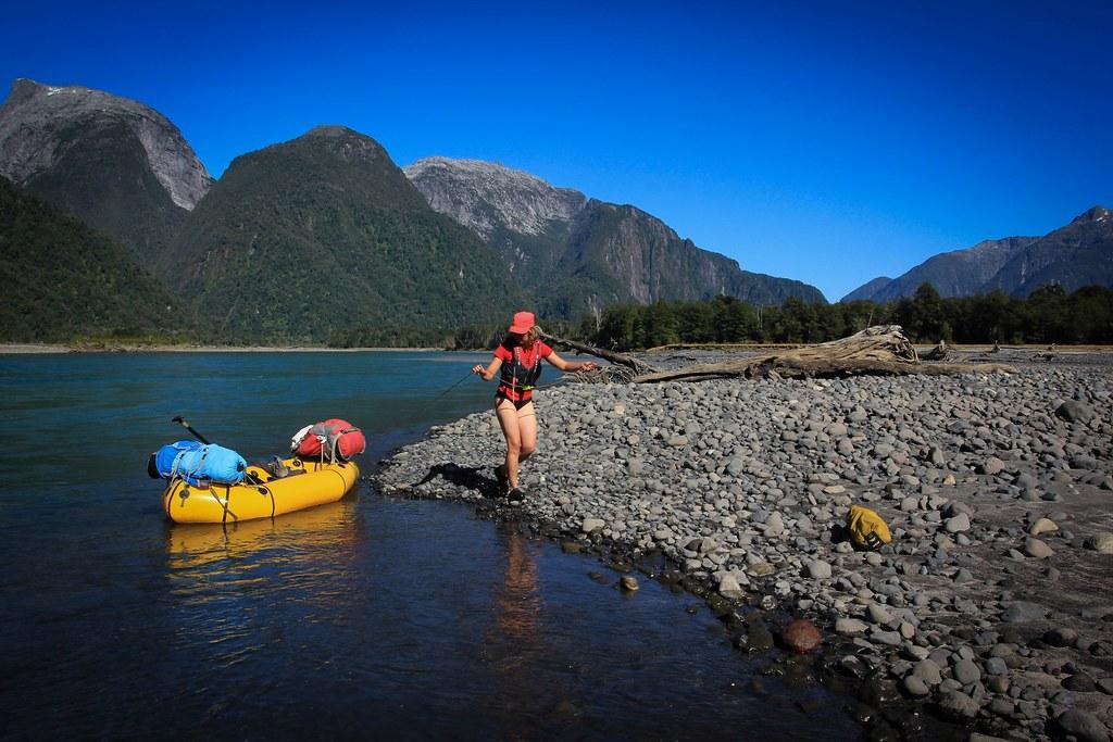 Packrafting Rio Yelcho - Corcovado National Park, Region de los Lagos, Patagonia, Chile