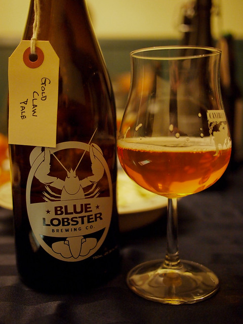 Gold Claw Pale Ale - Blue Lobster Brewing Company