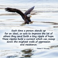 Stand Up! Send a Ripple of Hope.