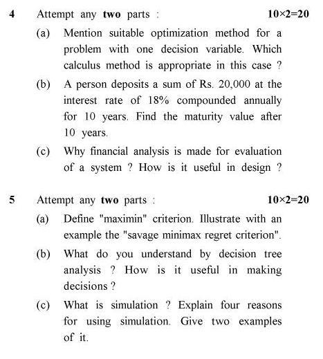 UPTU B.Tech Question Papers -ME-802 - Mechanical System Design