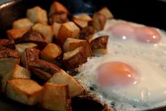 Potatoes + Eggs