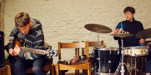 David Birchall, Nick Dobson, Chrtist Church Crypt, Skipton 22.3.13