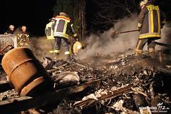 Wohnwagenbrand Naurod 24.03.13