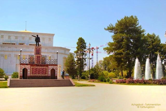 Lenin in Ashgabat