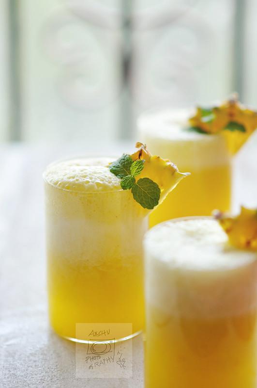 Day 74.365 - Fresh Pineapple Juice