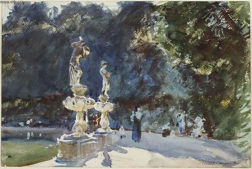John Singer Sargent Boboli Gardens