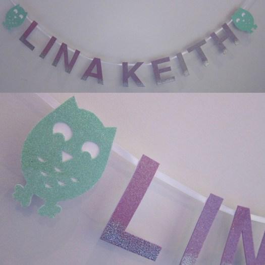 Lina Keith Bannner