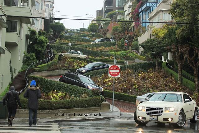 SF - lombard street - 2