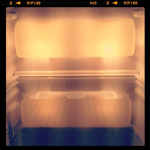 And on day six, we resolved our fridge crisis. Thanks @subgirl and Mr. @Subgirl!
