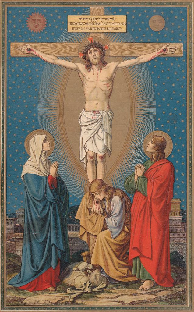 Kreuzigungsbild von F.M.S. aus dem Missale Romanum (Altarbuch) 1923 by Immaculata Helvetia, on Flickr