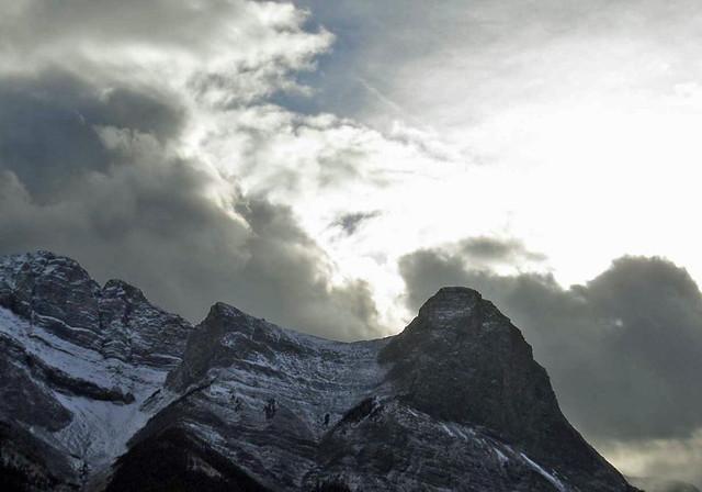 Rocky Mountain landscape and sky