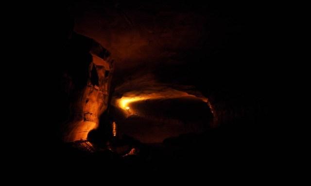 main chamber of Belum caves near Kurnool