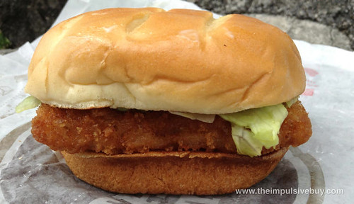 Burger King Premium Alaskan Fish Sandwich