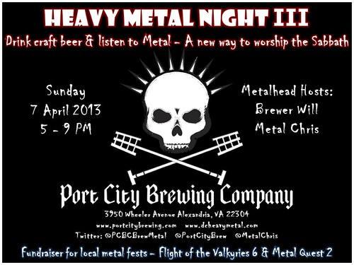 Metal Night III at Port City Brewery