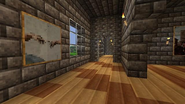 Minecraft Hotel - Left wing