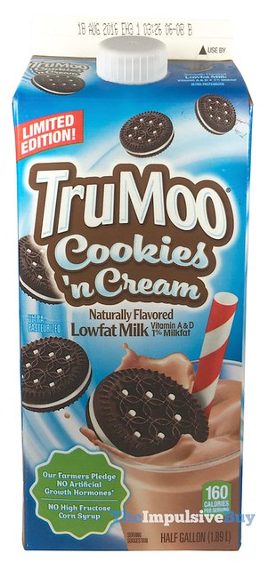 Limited Edition TruMoo Cookies & Cream Lowfat Milk
